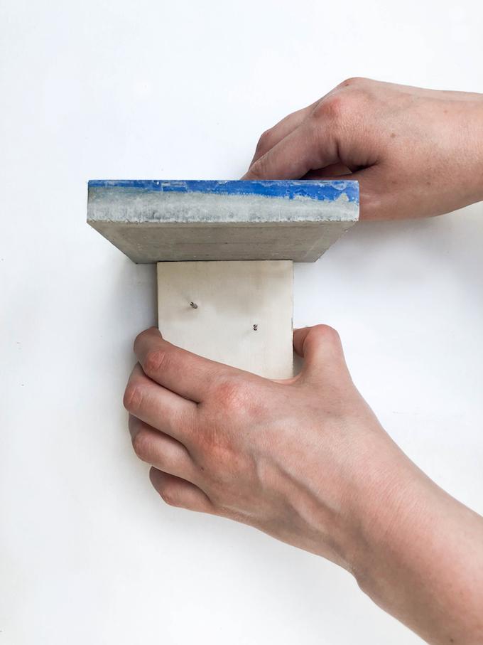 comment poser facilement des carreaux de ciment carré
