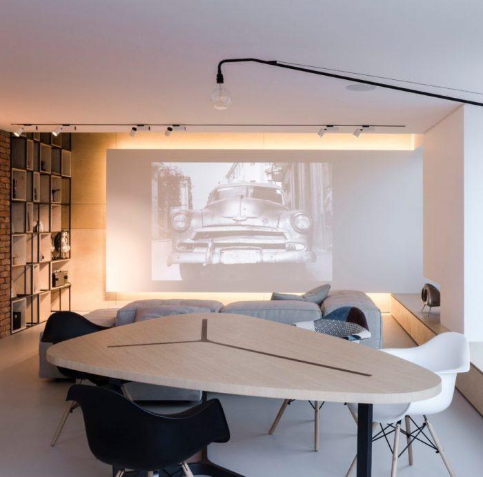 appartement esprit loft salon salle à manger