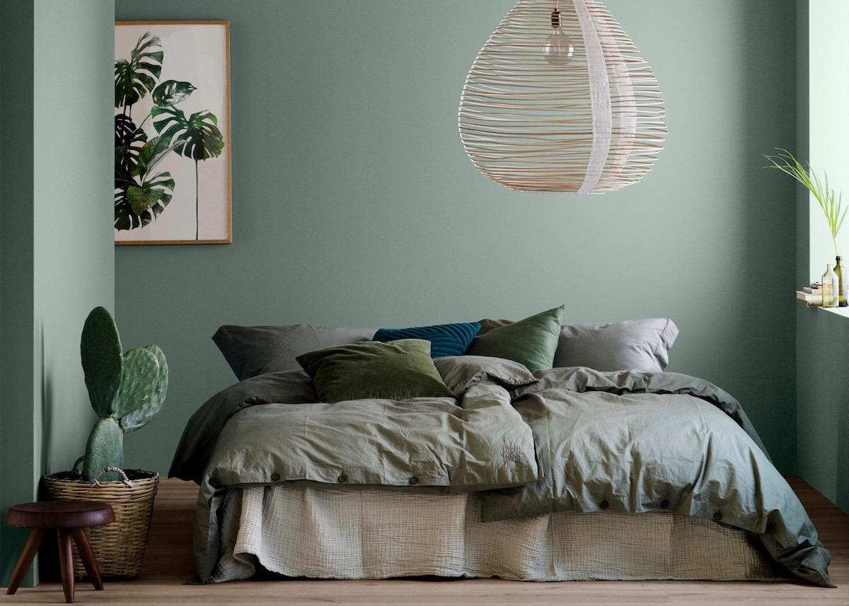 Idée Peinture Chambre Zen vert sauge : le teinte parfaite dans toutes les pièces