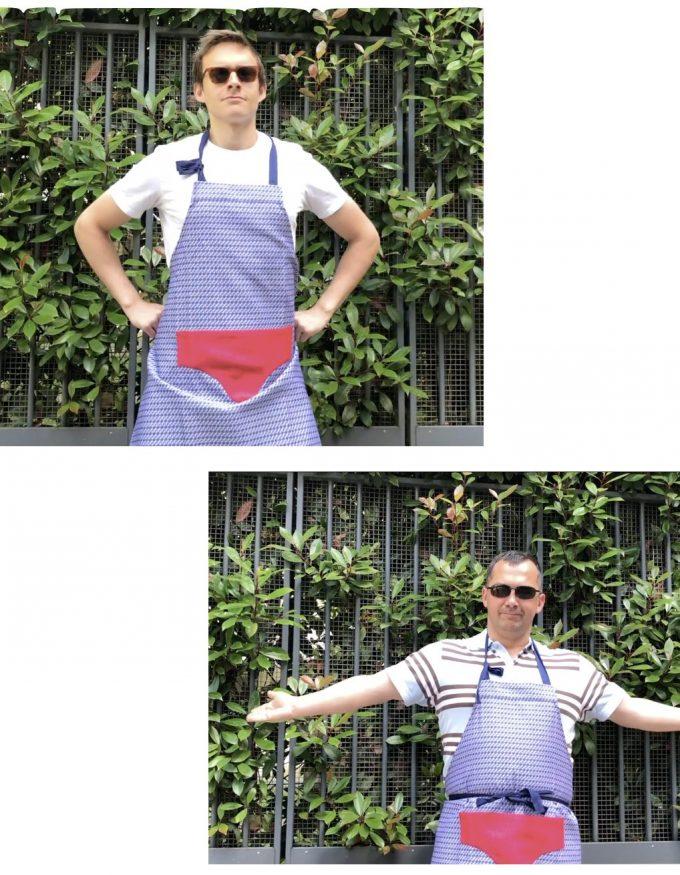 le jacquard slip francais collaboration top chef tablier slip clemaroundthecorner
