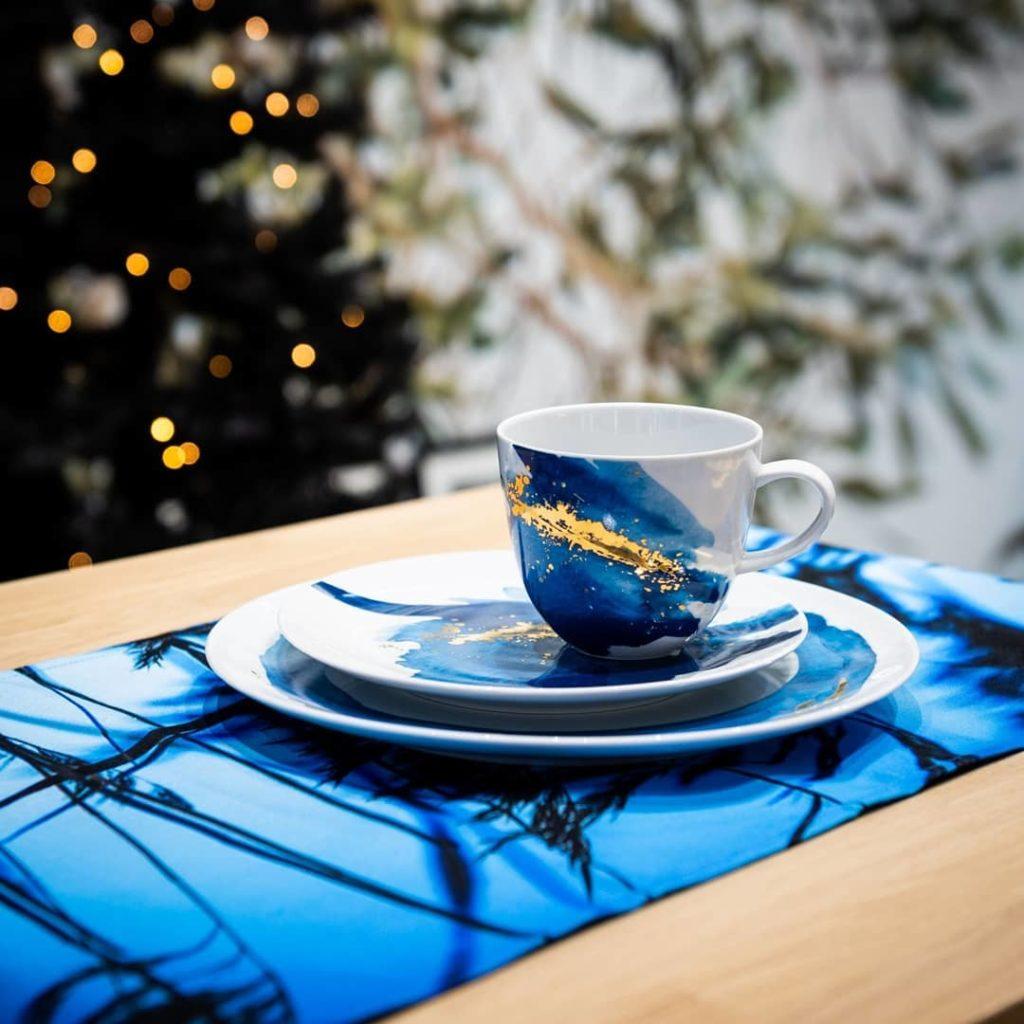 vaisselle noel art de la table personnalisation diy - blog déco design - clem around the corner