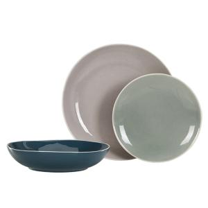 assiettes pastel bleu canard blog decoration interieure design clemaroundthecorner