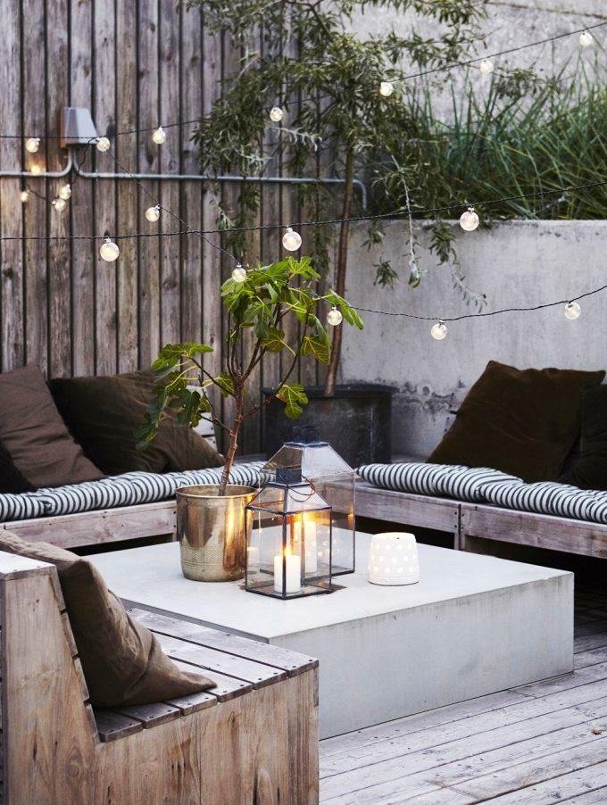 string light pas cher avis terrasse rooftop design moderne cosy blog deco clemaroundthecorner