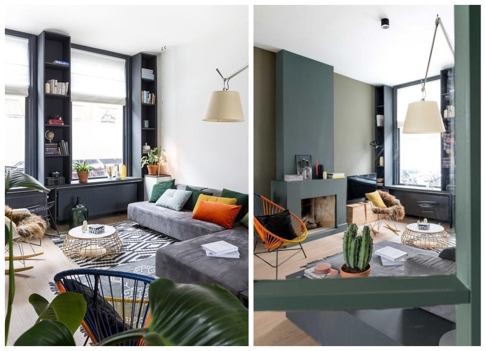 appartement bohème aux couleurs froides blog décoration intérieure clemaroundthecorner
