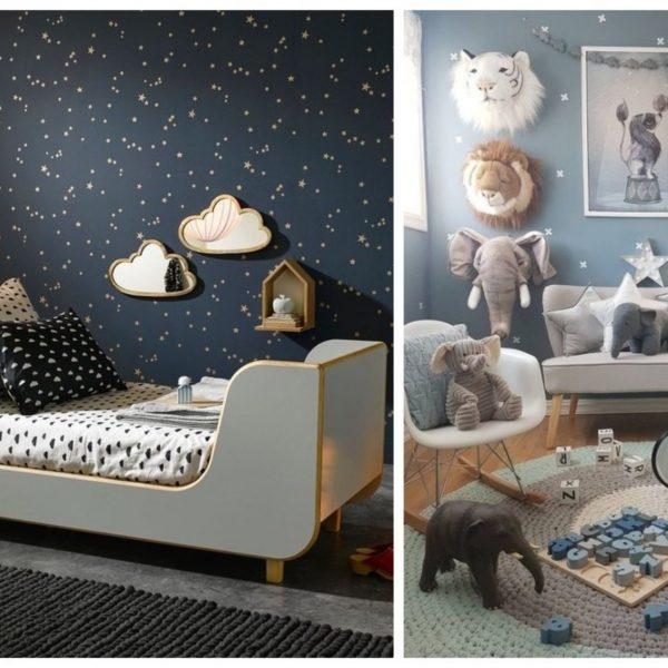 chambre bébé thème étoile blog déco clemaroundthecorner