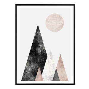 affiche scandinave montagne blog decoration interieure design clemaroundthecorner