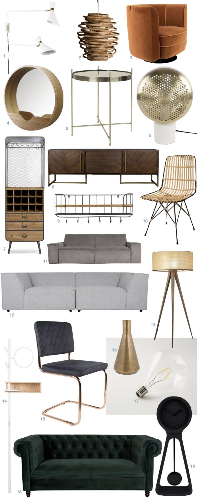 meuble hollandais design pas cher bon rapport qualité prix salon stylé