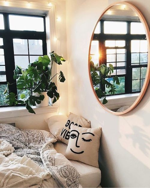 aménager 20m2 miroir original chambre optimisation studio blog déco design décoration