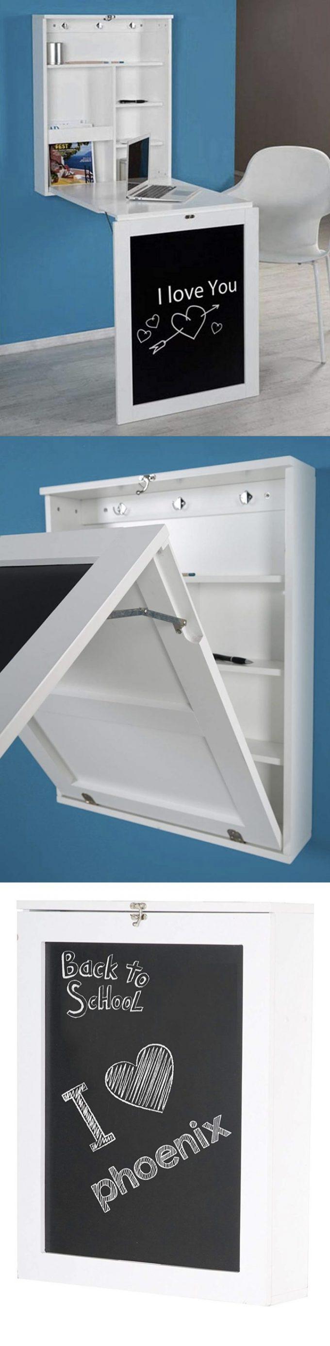 Bureau Pliable Pour Petit Espace 10 Meubles Design A Petit Prix Clematc