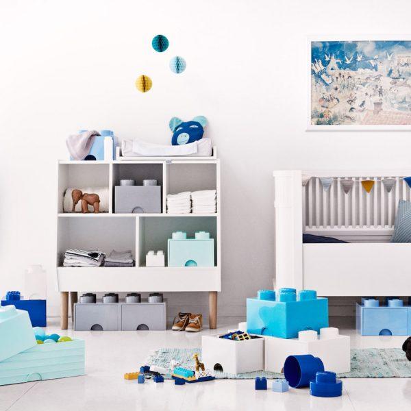 rangement ludique chambre enfant boite lego géant blog déco clem around the corner