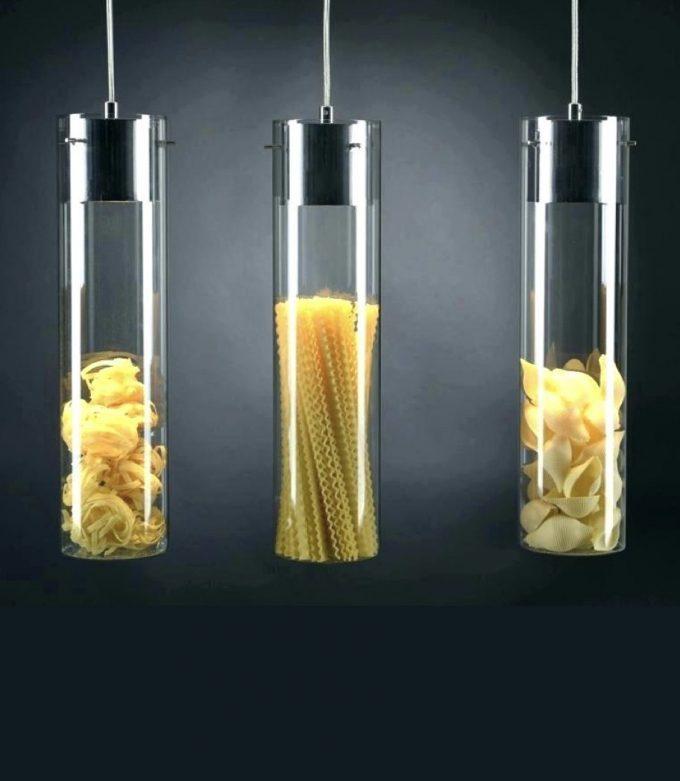 suspension diy originale pasta suspension cuisine pour décorer ilot central