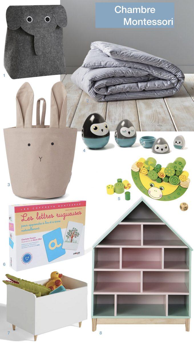 aménagement chambre Montessori bébé enfant petite fille blog déco clem around the corner
