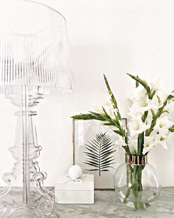 bourgie kartell lampe Polycarbonate plastique design bougie lampe de createur retro blog deco clemaroundthecorner