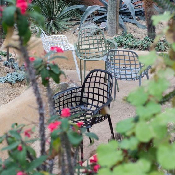 chaise exterieur balcon terrasse aluminium design zuiver blog déco clem around the corner
