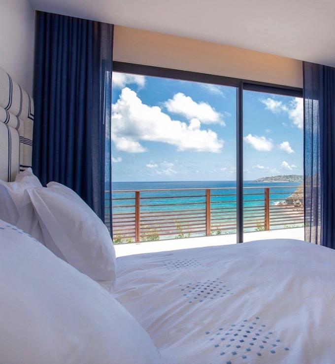 chambre bleue coin de paradis aux antilles blog deco clemaroundthecorner