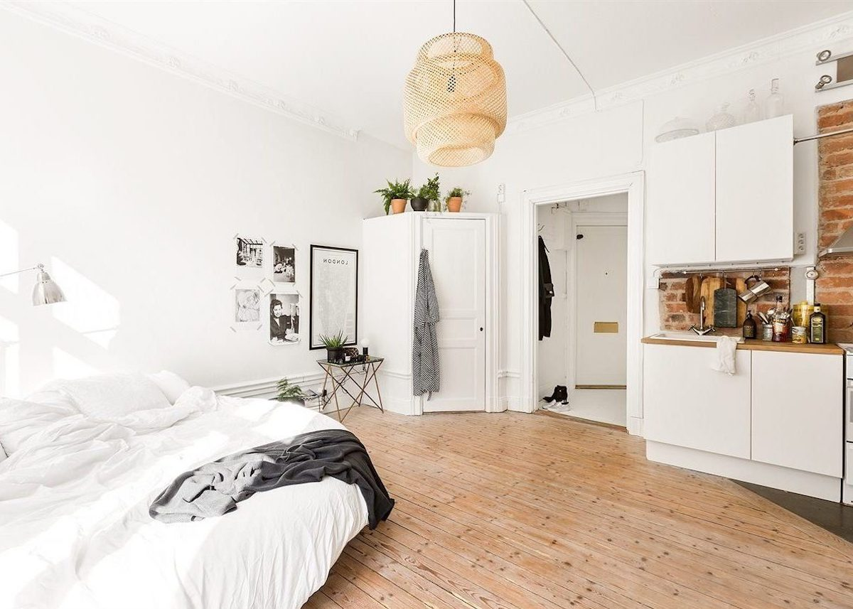Idée Déco Chambre Simple chambre dans salon : 5 astuces - blog déco - clem around the