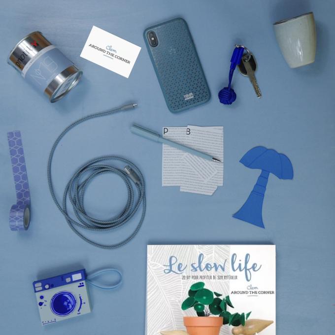 cv coloré idée inspiration couleur hypnotik bleu - Blog déco - Clem around the corner