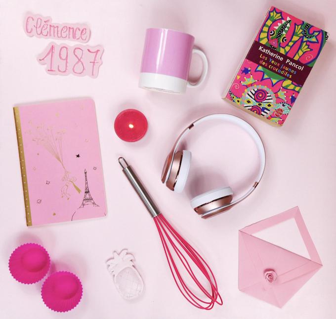 cv coloré idée inspiration couleur hypnotik rose - Blog déco - Clem around the corner