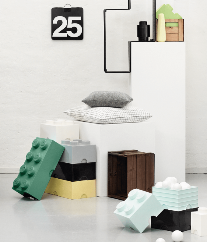 rangement ludique boite lego tiroir panier rigolo enfant deco blog clem around the corner
