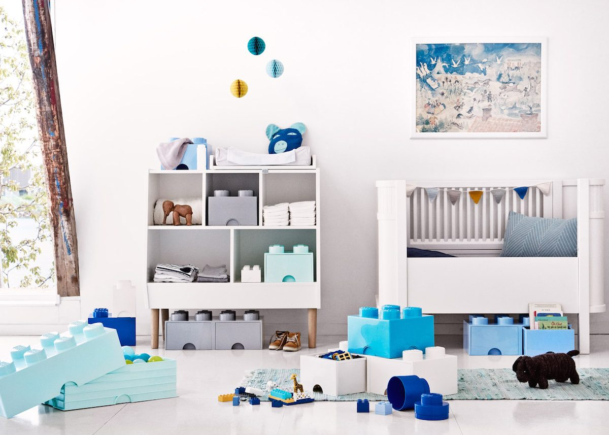 trouver un rangement ludique pour la chambre d 39 enfant. Black Bedroom Furniture Sets. Home Design Ideas