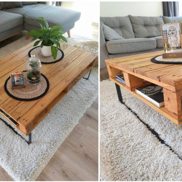 table basse palette diy blog déco clemaroundthecorner
