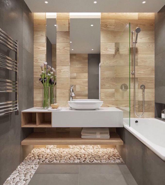 Salle de bain theme nature : 20 idées waouh ! – Clem Around ...