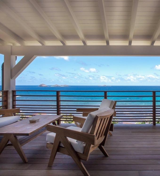 terrasse coin de paradis aux antilles blog deco clemaroundthecorner