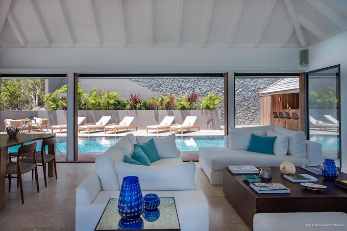villa bungalow piscine location saint barth salon blog deco clemaroundthecorner