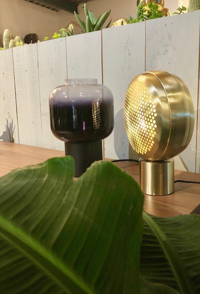 zuiver design hollandais meubles lampe laiton phare vintage doré - Blog déco - Clem Around The Corner