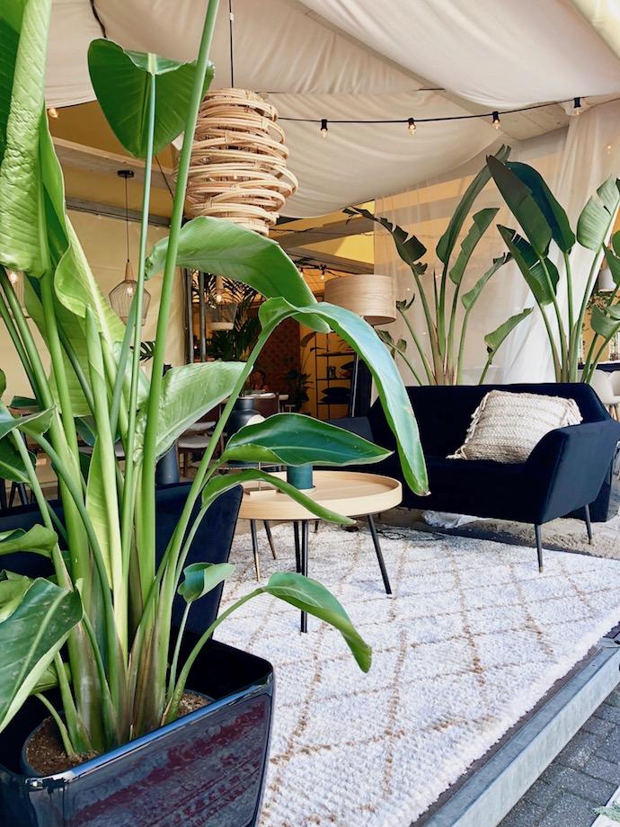 zuiver design hollandais meubles salon extérieur tente style bohème chic scandinave urban jungle - Blog déco - Clem Around The Corner