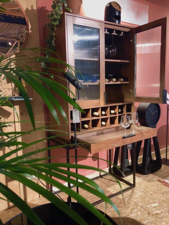 zuiver design hollandais meubles salon meuble bar à vin cave - Blog déco - Clem Around The Corner