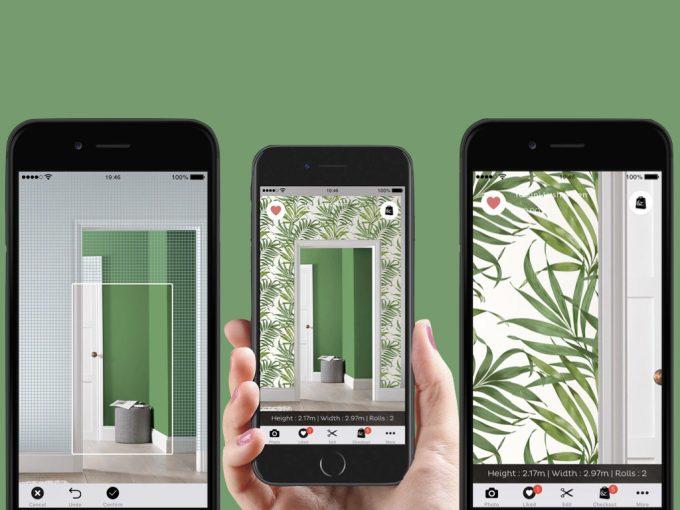 application réalité augmentée décoration papier peint de l'année 2019 - clem around the corner