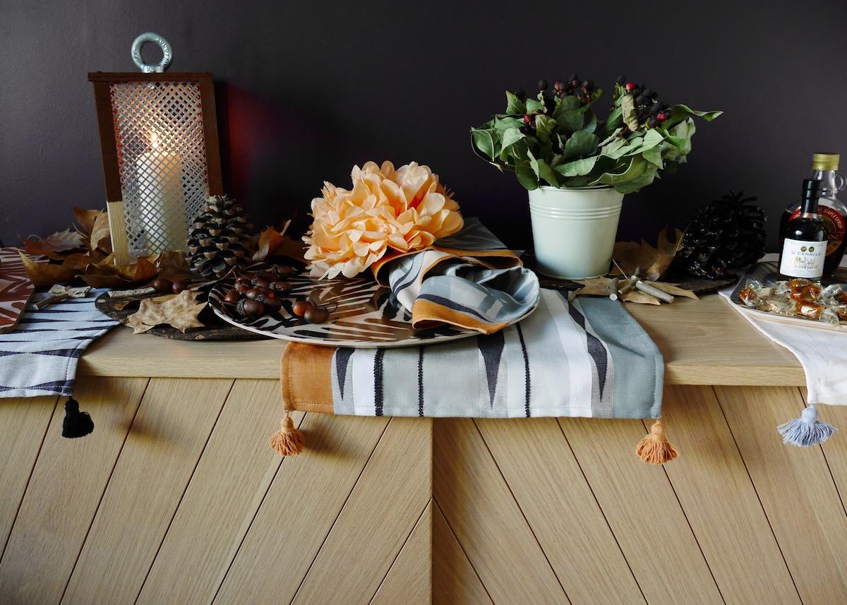 idée déco d'automne à faire soi-même Wild par Le Jacquard Français - blog décoration intérieure - Clem Around The Corner