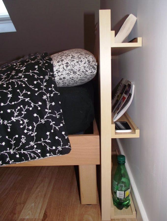 ikea hack tête de lit avec rangement - blog déco - clem around the corner
