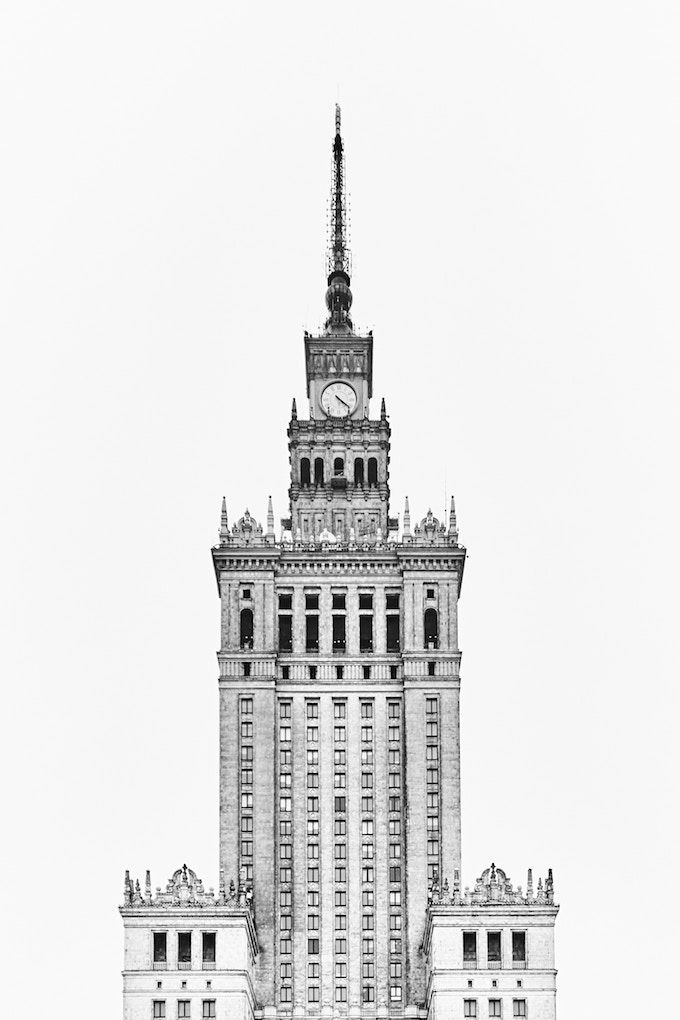 Palais de la culture et de la science Varsovie - blog deco design - clem around the corner