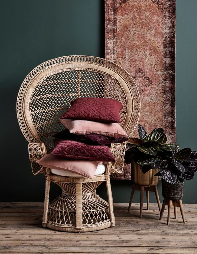 coussin tapis terracotta maison et objet septembre 2018 - blog déco - clem around the corner