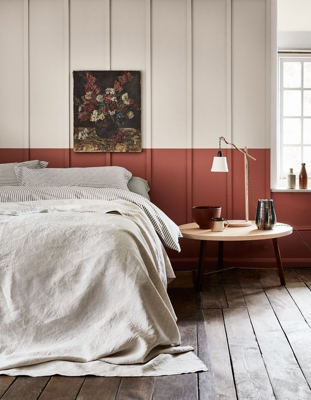 soubassement peinture terracotta maison et objet septembre 2018 - blog deco - clem around the corner