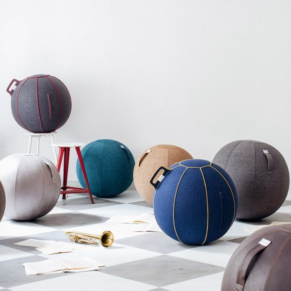 VLUV avis ballon siege fitball yoga bureau - blog déco - clem around the corner