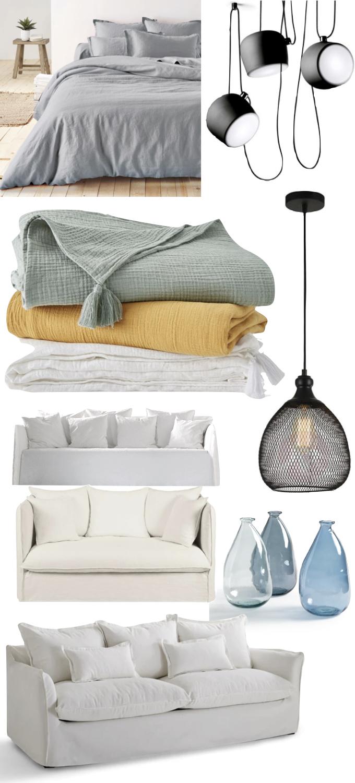 appartement déco scandinave shades of grey hometour - blog décoration - clem around the corner