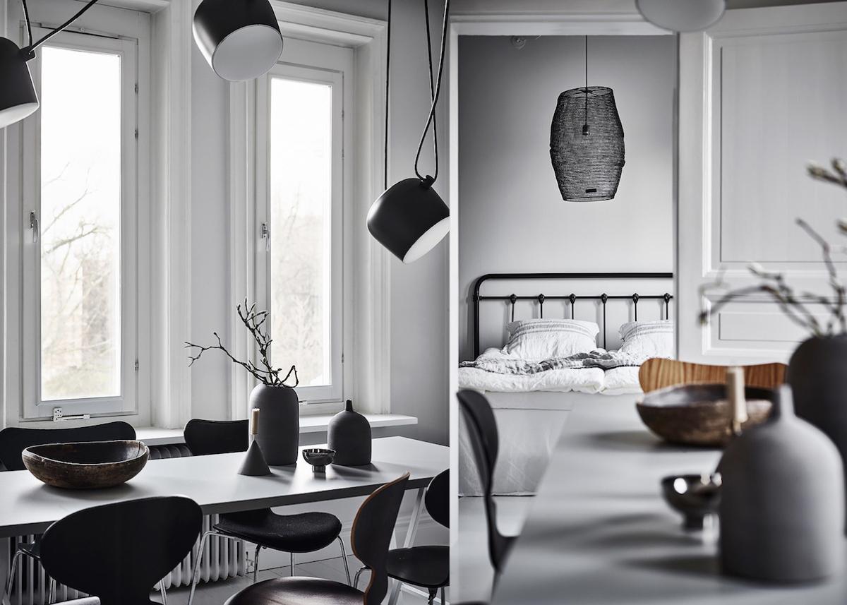 appartement Suède shades of grey - blog déco - clem around the corner