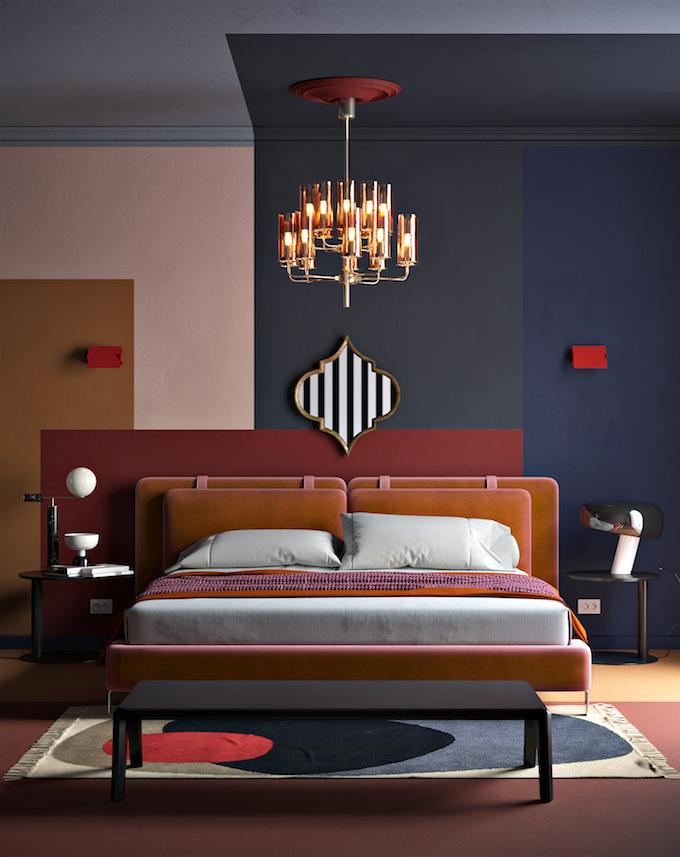 daria zinovatnaya blog déco clemaroundthecorner chambre à coucher lit lampe tapis original design ukraine