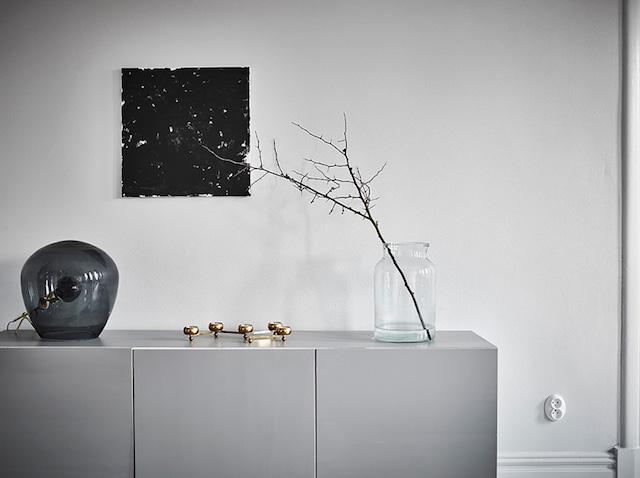 décoration minimaliste épurée grise salon shades of grey - blog déco - clem around the corner