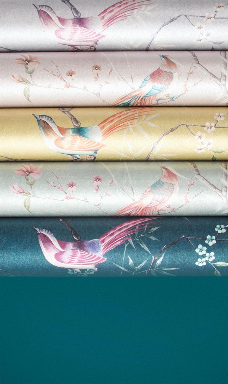 papier peint de l'année 2019 décoration intérieur japonisante tori - blog déco - Clem Around The Corner