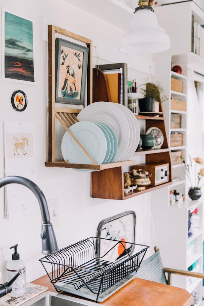 petite maison simple décoration design roulotte maisonnette 15m2
