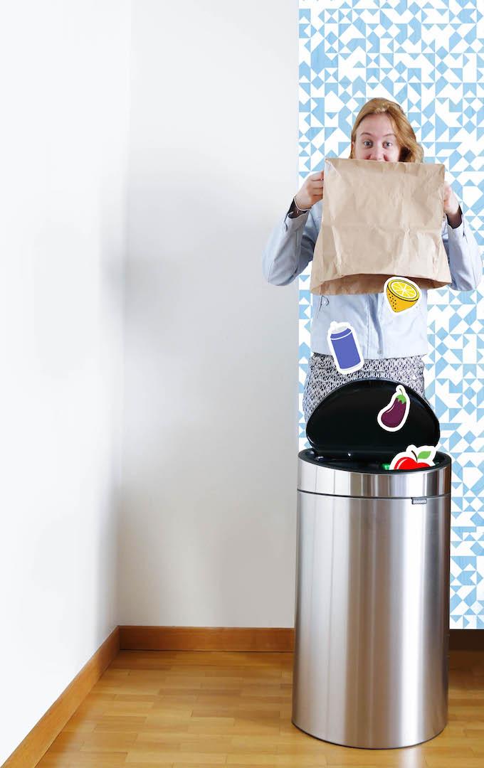 poubelle de cuisine et tri sélectif design - blog déco - Clem around the corner