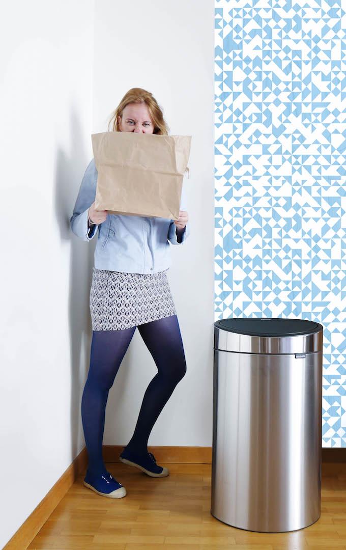poubelle de cuisine et tri sélectif design - blog déco - Clemaroundthecorner