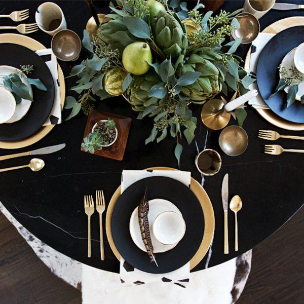 que faire avec des artichaut décoration table dressage clemaroundthecorner blog déco