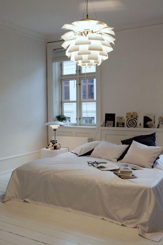 que faire avec des artichauts blanc luminaire lustre chambre blanche cosy icone design louis poulsen clemaroundthecorner blog déco