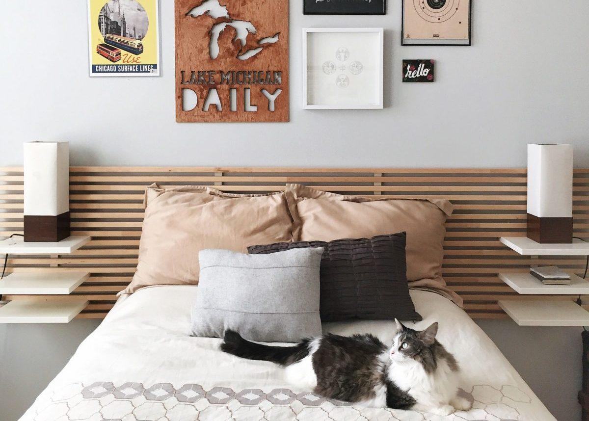 Comment Faire Un Lit Soi Meme où trouver une tête de lit avec rangement ? - clem around