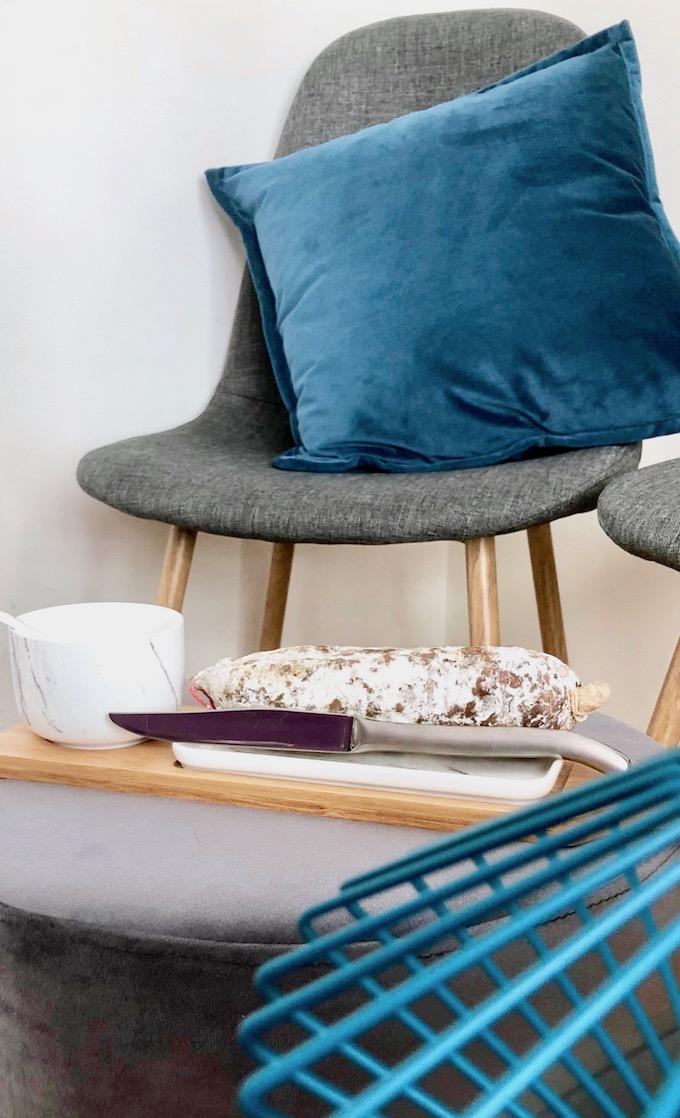usine mode et maison anne de solene coussin velours avis blog déco clem around the corner
